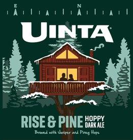 Uinta 'Rise and Pine'Hoppy Dark Ale 12oz (Can)
