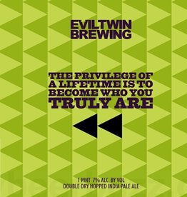 Evil Twin Brewing 'The Privilege of a Lifetime is to Become Who You Truly Are' DIPA 16oz (Can)