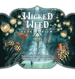 Wicked Weed 'Genesis' Barrel-aged Sour Ale 500ml