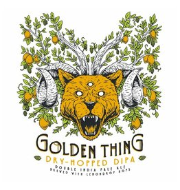 Troegs 'Golden Thing' Dry-hopped Double IPA 16oz (Can)