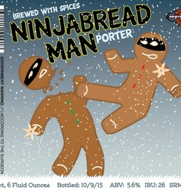 Asheville Brewing Co. 'NinjaBread Man' Porter 22oz
