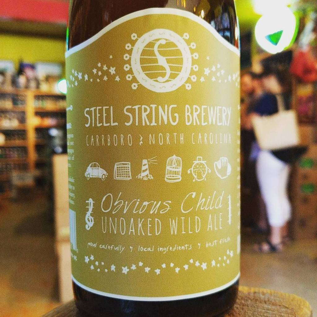 Steel String 'Obvious Child' Unoaked Wild Ale 500ml
