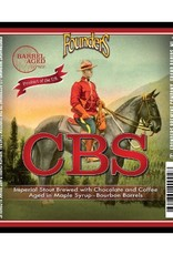 Founders Brewing Co. 'CBS' Maple-Bourbon Barrel-aged Imperial Stout w/ Coffee and Chocolate 750ml