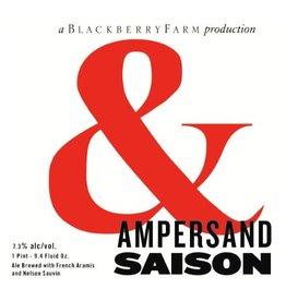 Blackberry Farm Brewery 'Ampersand' French-style Saison 750ml