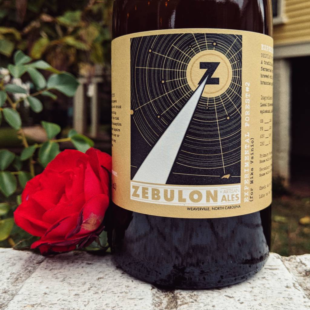 Zebulon Artisan Ales 'Experimental Forest #2' Belgian White Beer 750ml