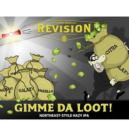 Revision 'Gimme da Loot' Northeast-style Hazy IPA 16oz (Can)
