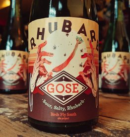 Birds Fly South Ale Project 'Rhubarb Gose' 500ml