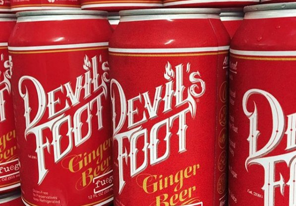 Devil's Foot 'Fuego' Ginger Beer (Case)