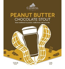 Catawba Brewing Co. 'Peanut Butter Chocolate Stout' 12oz (Can)