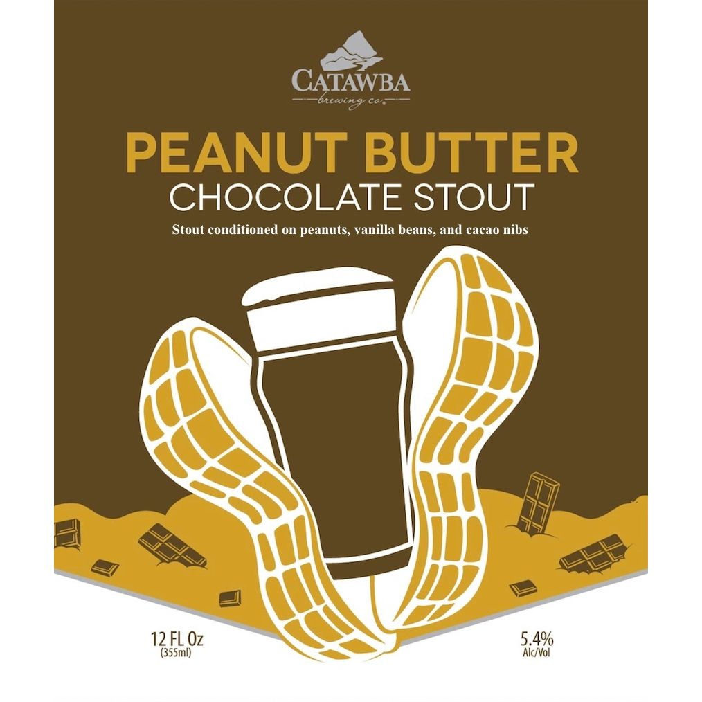 Catawba 'Peanut Butter Chocolate Stout' 12oz (Can)