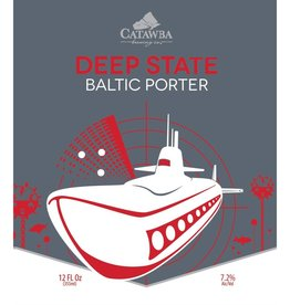 Catawba 'Deep State' Baltic Porter 12oz (Can)