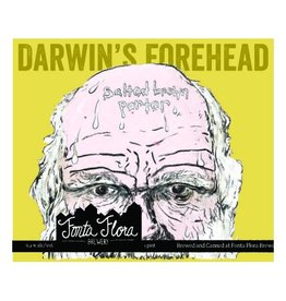 Fonta Flora Brewery 'Darwin's Forehead' Salted Brown Porter 16oz (Can)