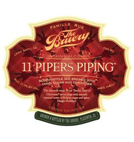 The Bruery '11 Pipers Piping' Scotch-style Ale 750ml