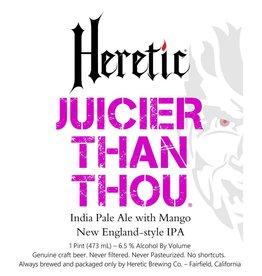 Heretic 'Juicier than Thou' New England-style IPA 16oz (Can)