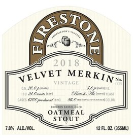 Firestone Walker 'Velvet Merkin' Bourbon Barrel-aged Oatmeal Stout 375ml