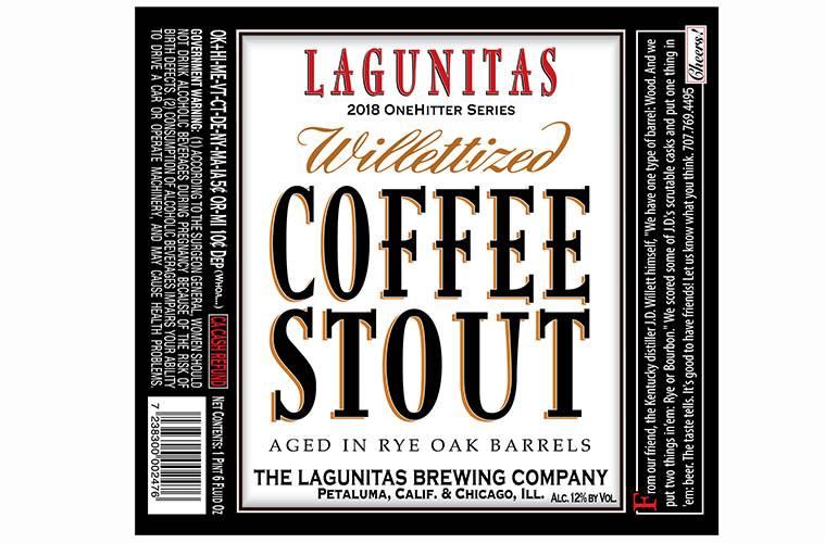 Lagunitas 'Willettized' Coffee Stout 22oz