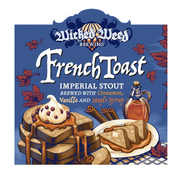 Wicked Weed 'French Toast' Imperial Stout 500ml