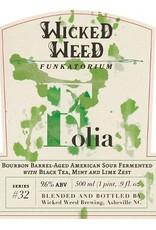 Wicked Weed 'Folia' Bourbon Barrel-aged American Sour Ale 500ml