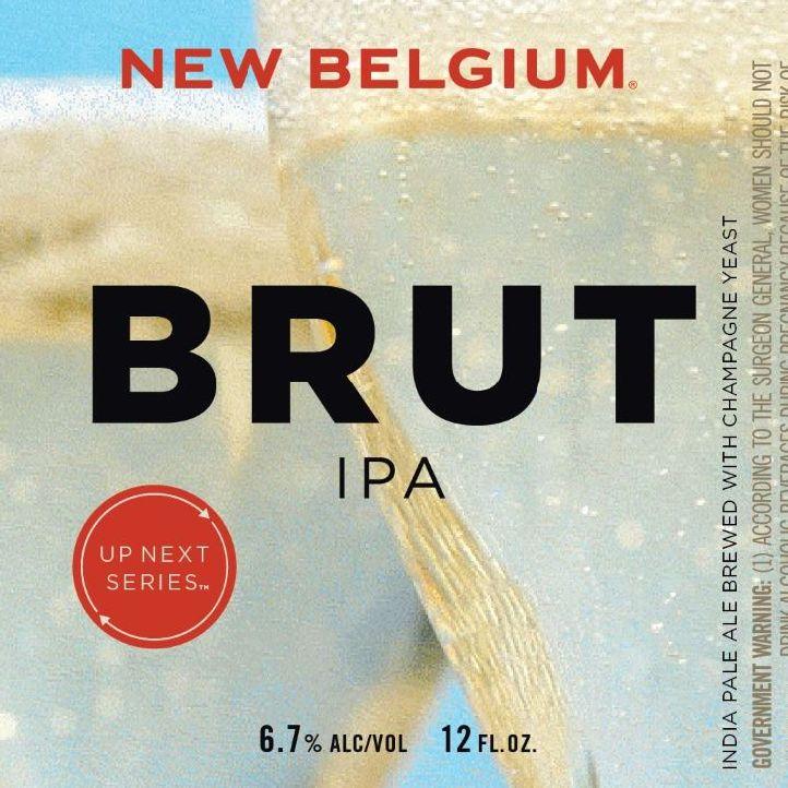 New Belgium Brewing 'Up Next Series - Brut IPA' 12oz Sgl