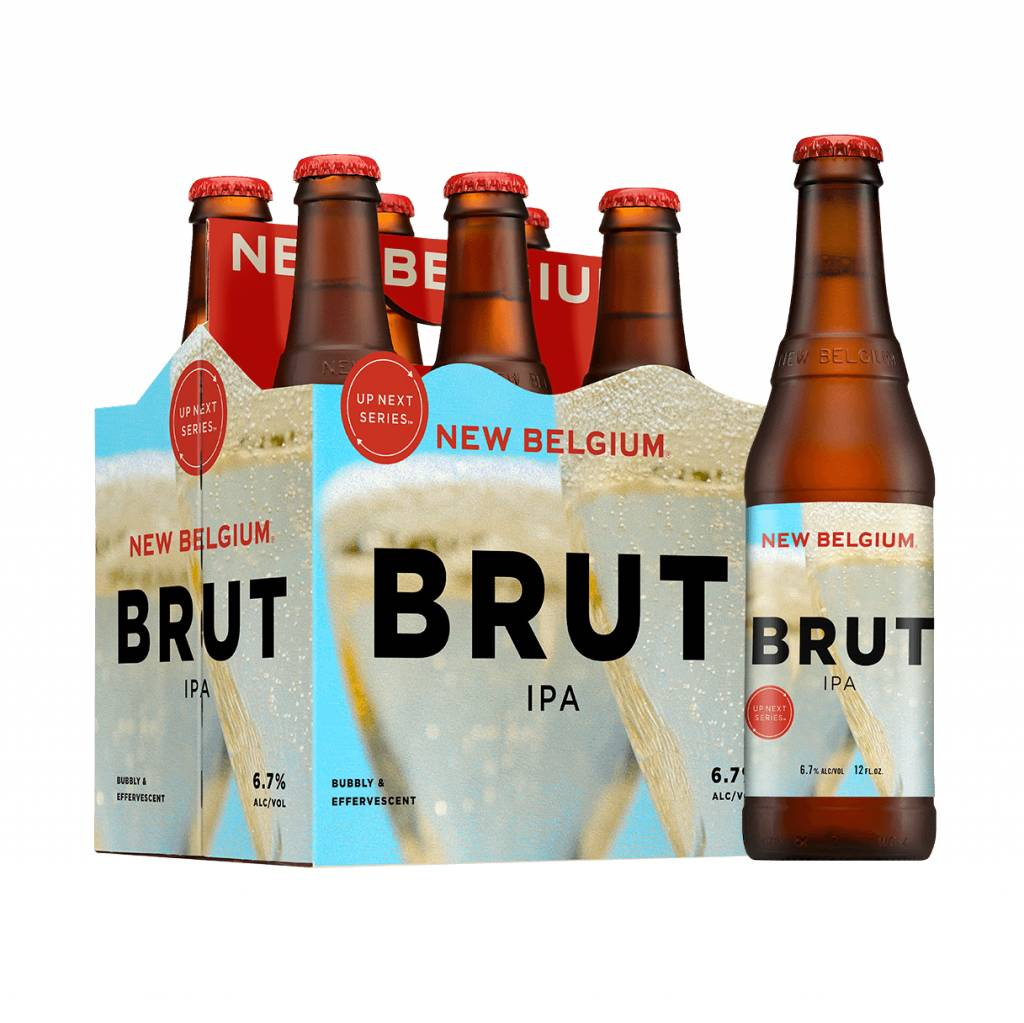 New Belgium Brewing 'Up Next Series - Brut IPA' 12oz Sgl