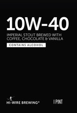 Hi-Wire Brewing '10W-40' Imperial Stout 16oz (Can)