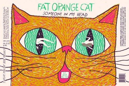 Fat Orange Cat 'Someone In My Head' 16oz (Can)