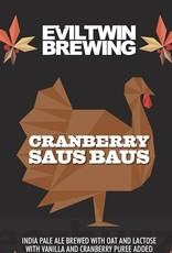 Evil Twin Brewing 'Cranberry Saus Baus' 16oz (Can)