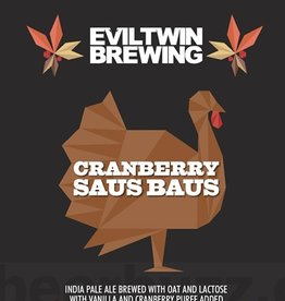 Evil Twin Brewing 'Cranberry Saus Baus' 16oz (Can)