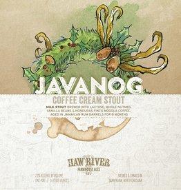 Haw River Farmhouse Ales 'Javanog' Coffee Cream Stout 16oz Can
