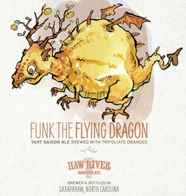 Haw River Farmhouse Ales 'Funk the Flying Dragon' Tart Saison 500ml