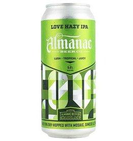 Almanac 'Love' Hazy IPA 16oz (Can)