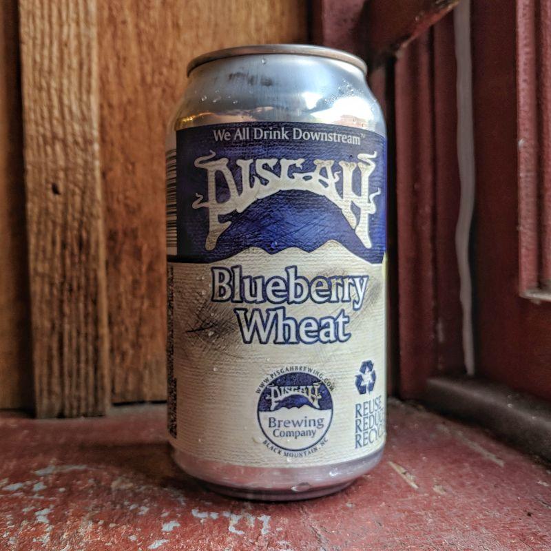 Pisgah 'Blueberry Wheat' 12oz (Can)