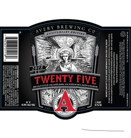 Avery Brewing Co. 'Twenty Five' Belgian Style Dark Ale 22oz