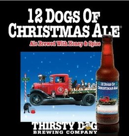 Thirsty Dog '12 Dogs of Christmas' Ale 12oz Sgl