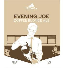 Catawba Brewing Co. 'Evening Joe' Coffee Blonde Ale 12oz (Can)