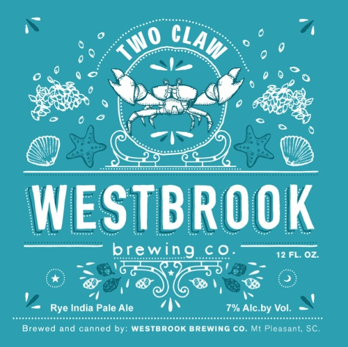 Westbrook 'Two Claw' New England-style Rye IPA 12oz (Can)