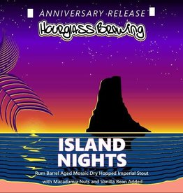 Hourglass 'Island Nights' Rum barrel-aged Imperial Stout 22oz