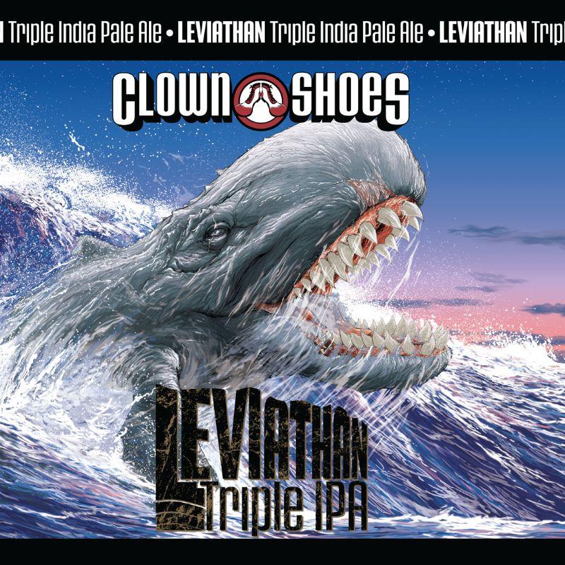 Clown Shoes 'Leviathan' Triple IPA 16oz (Can)