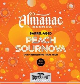 Almanac 'Peach Sournova' Barrel-aged Sour Ale 16oz (Can)
