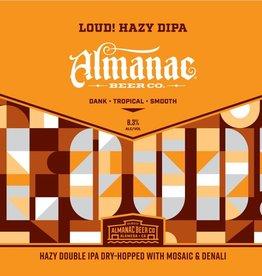 Almanac 'LOUD!' New England-style DIPA 16oz (Can)