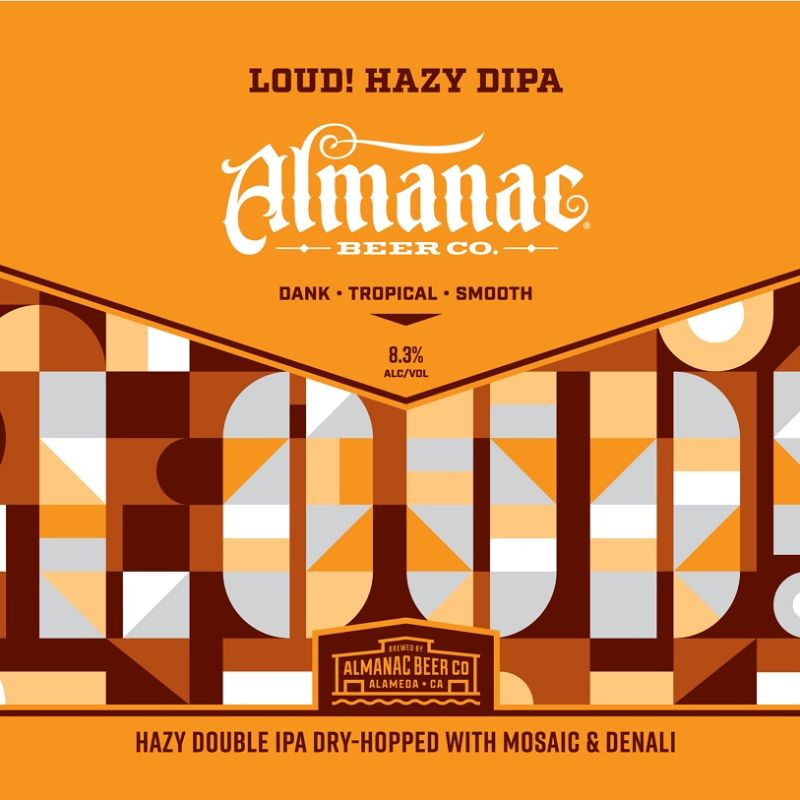 Almanac 'LOUD!' New England-style DIPA 16oz (Can)