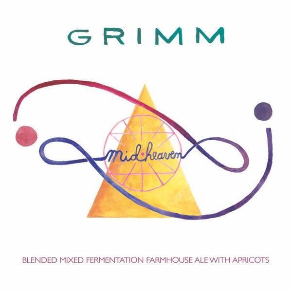 Grimm Artisanal Ales 'MidHeaven' Mixed Fermentation Farmhouse Ale 500ml