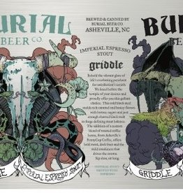 Burial Beer Co. 'Griddle' Imperial Espresso Stout 12oz Sgl