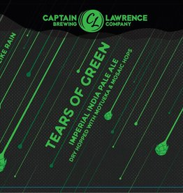 Captain Lawrence 'Tears of Green' Imperial IPA 16oz (Can)