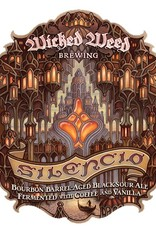 Wicked Weed 'Silencio' Barrel-aged Sour Ale 500ml