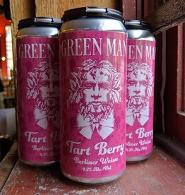 Green Man Brewery 'Tart Berry' Berliner Weisse 16oz (Can)