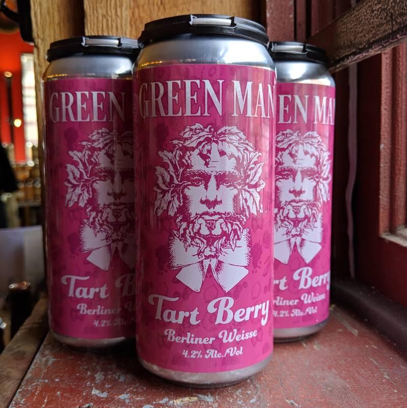 Green Man Brewery 'Tart Berry' Berliner Weisse 16oz (Can)