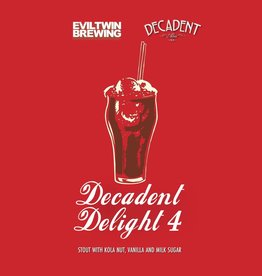 Decadent Ales x Evil Twin 'Decadent Delight 4' Stout 16oz (Can)