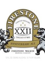 Firestone Walker 'XXII Anniversary' Ale 375ml