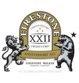 Firestone Walker 'XXII Anniversary' Ale 375ml
